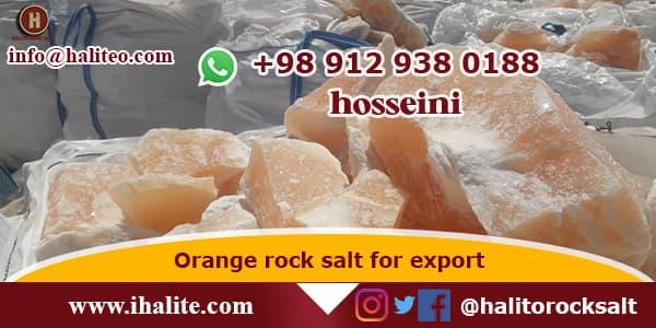 orange rock salt