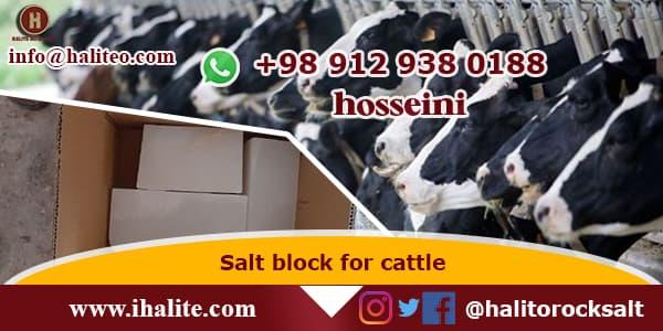 rock salt for livestock