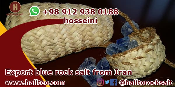 Persian blue salt