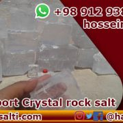 Crystal rock salt