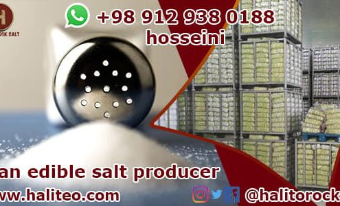Edible salt supplier