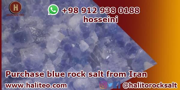 Blue salt persian