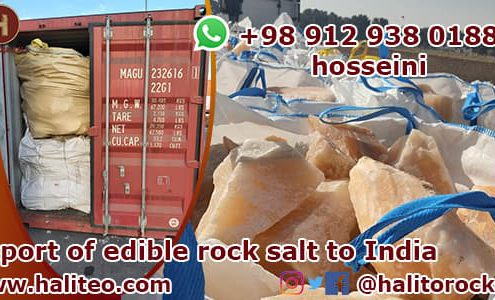 Manufacturer of salt in Iran