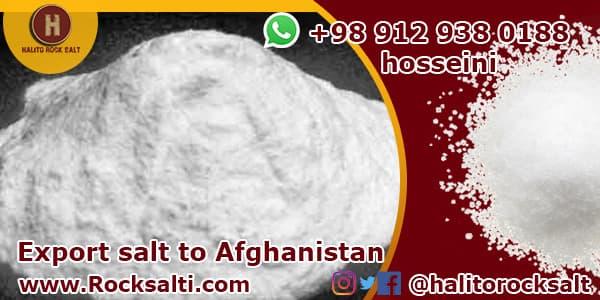 Iran industrial salt